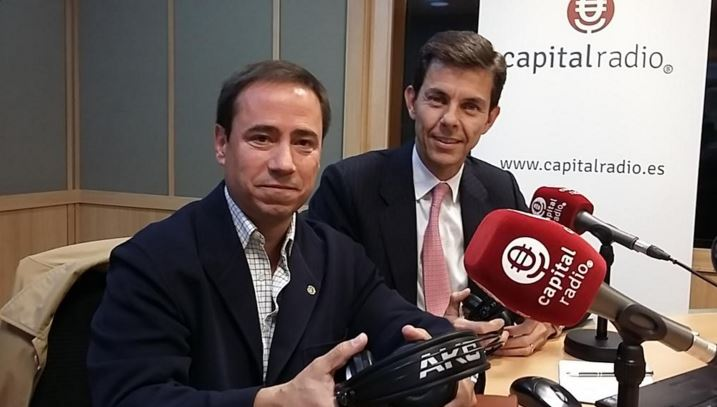 "José María Cancer in Capital Radio talking about ""Seniors, training and expatriation"""