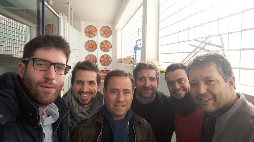 "Experiences exchange with the aerodynamic team of the Microgravity University Institute ""Ignacio Da Riva"""